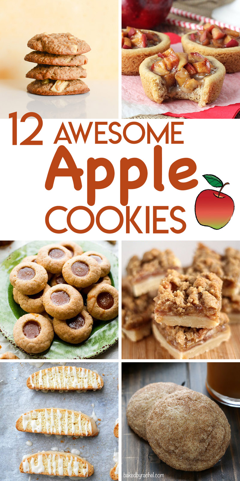 12 awesome autumn apple cookie recipes