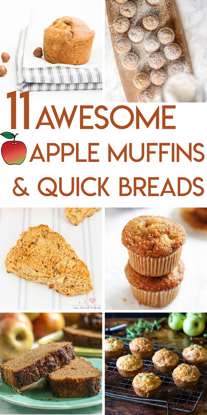 11 amazing apple muffin and quick bread recipes