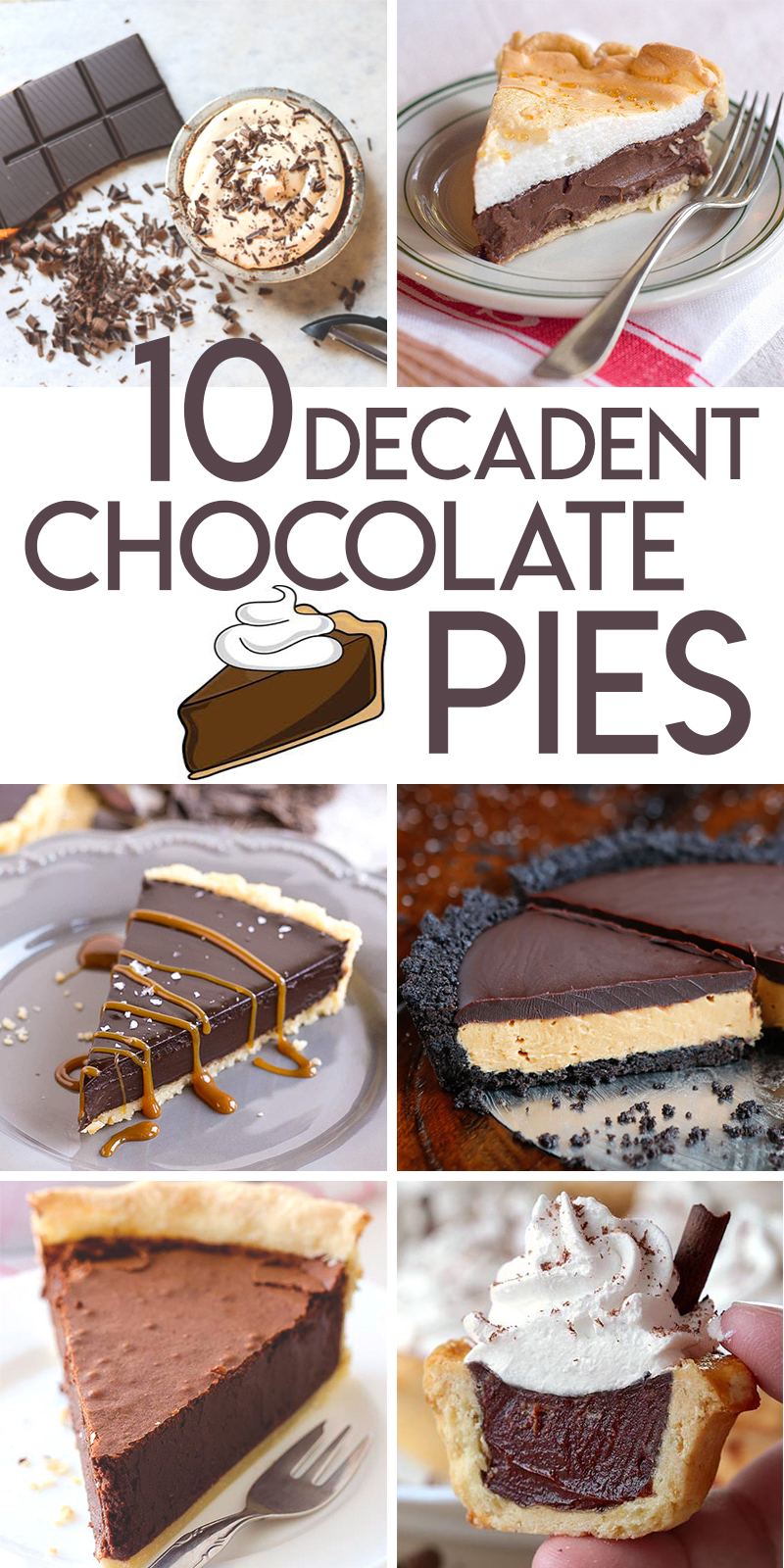 10 decadent chocolate pie recipes