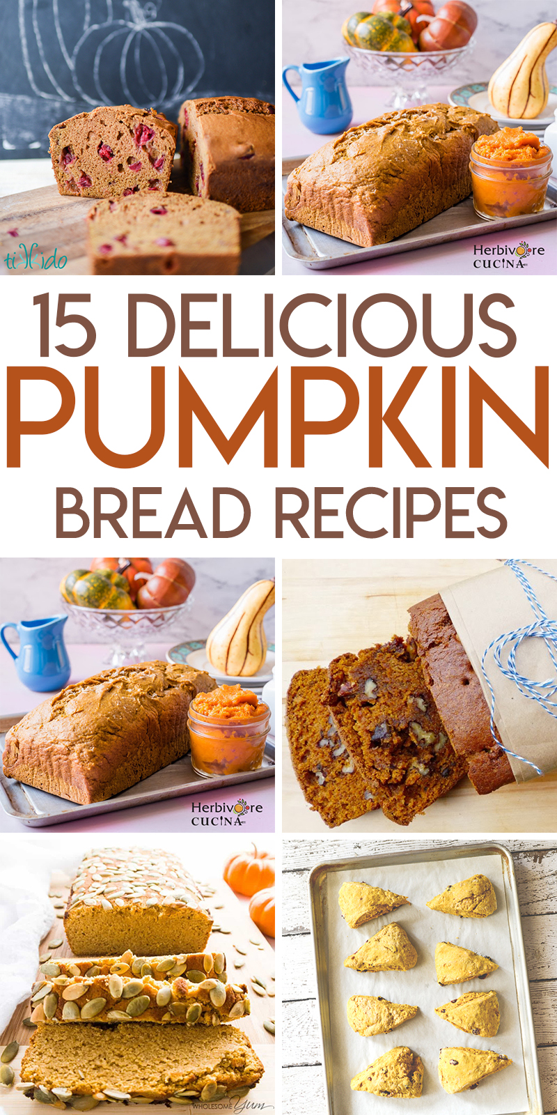 15 perfect pumpkin bread recipes