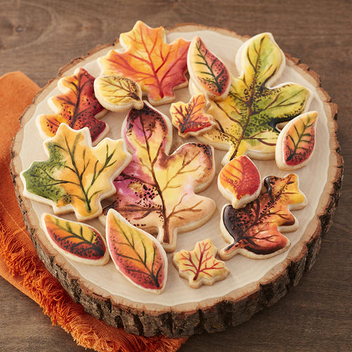 Fall Cookie Cakes