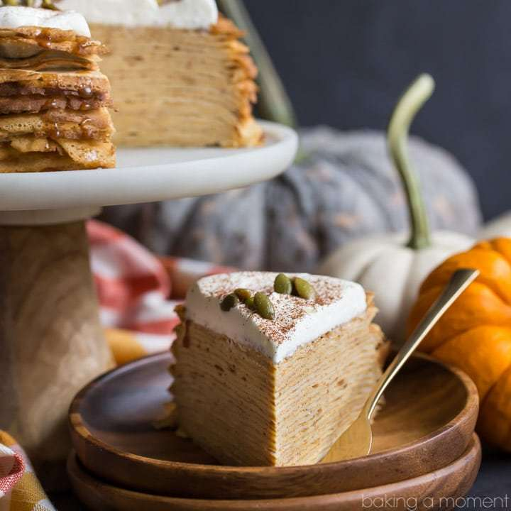 pumpkin crepe cake recipe