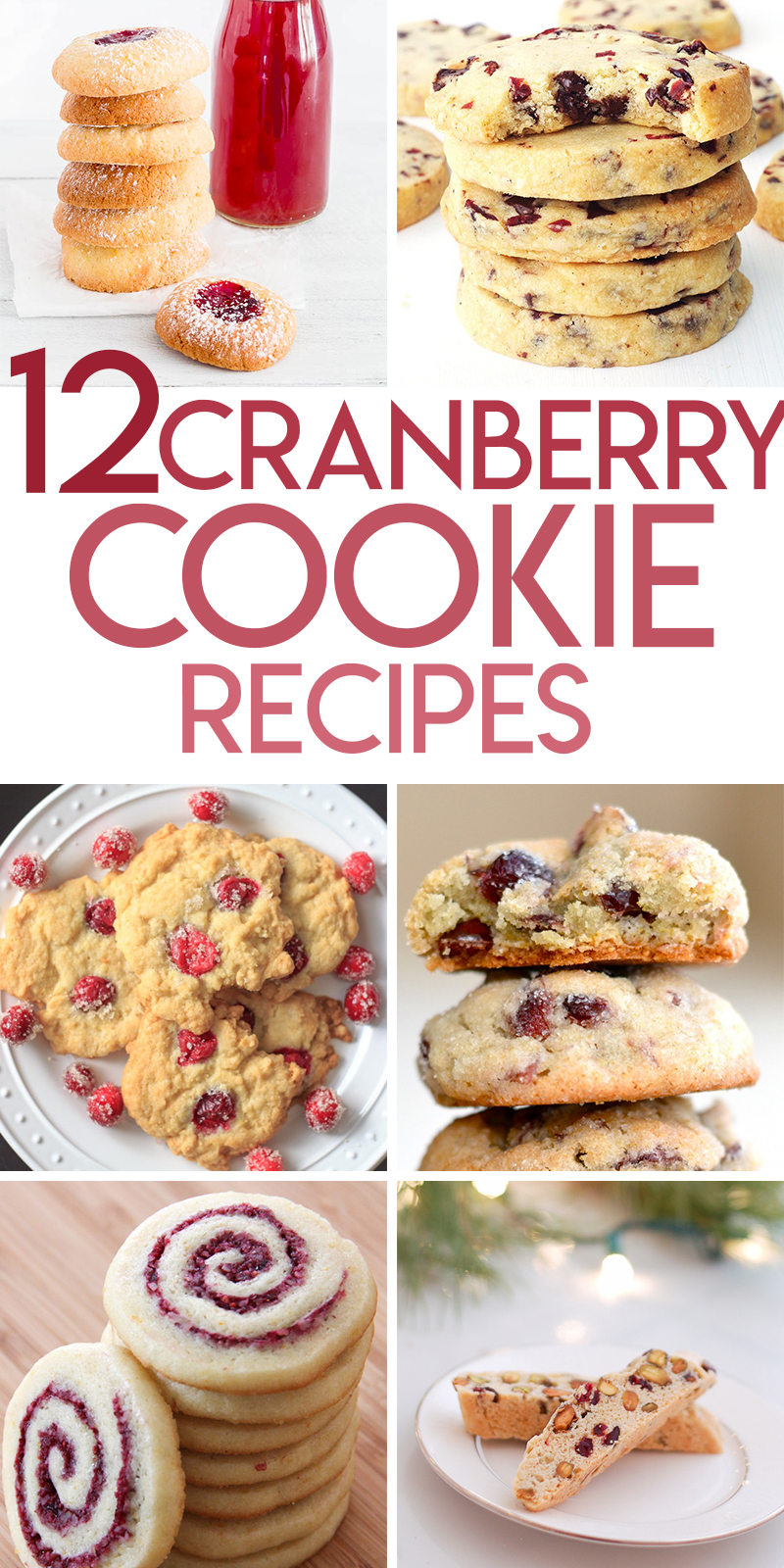 Cranberry Cookie recipes for Christmas