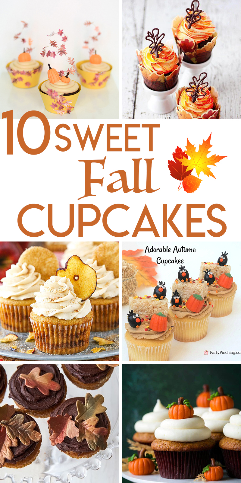10 Sweet Cupcake Recipes for Fall