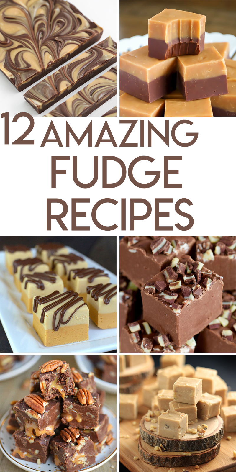 12 fabulous fudge recipes for Christmas goodie trays