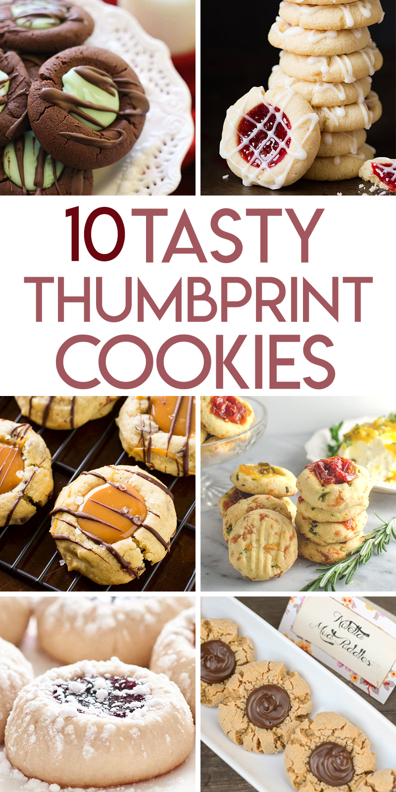 10 Tasty thumbprint cookie recipes