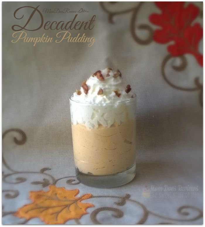 decadent pumpkin pudding dessert recipe