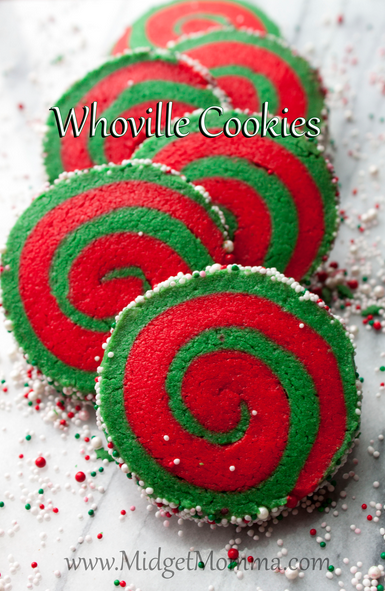 whoville swirl slice and bake cookies