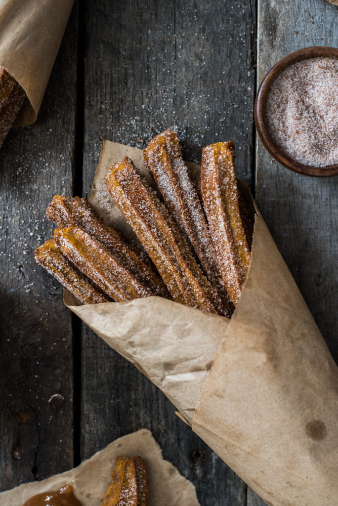 baked pumpkin churro recipe
