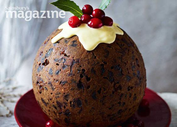 Ginger steamed Christmas pudding with hard sauce recipe