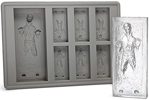 Star Wars chocolate molds, including Han Solo in Carbonite