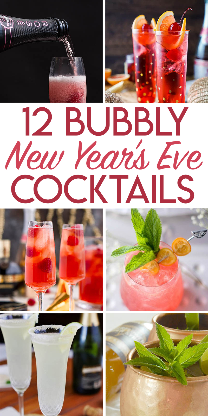 12 bubbly cocktail recipes for New Year's Eve