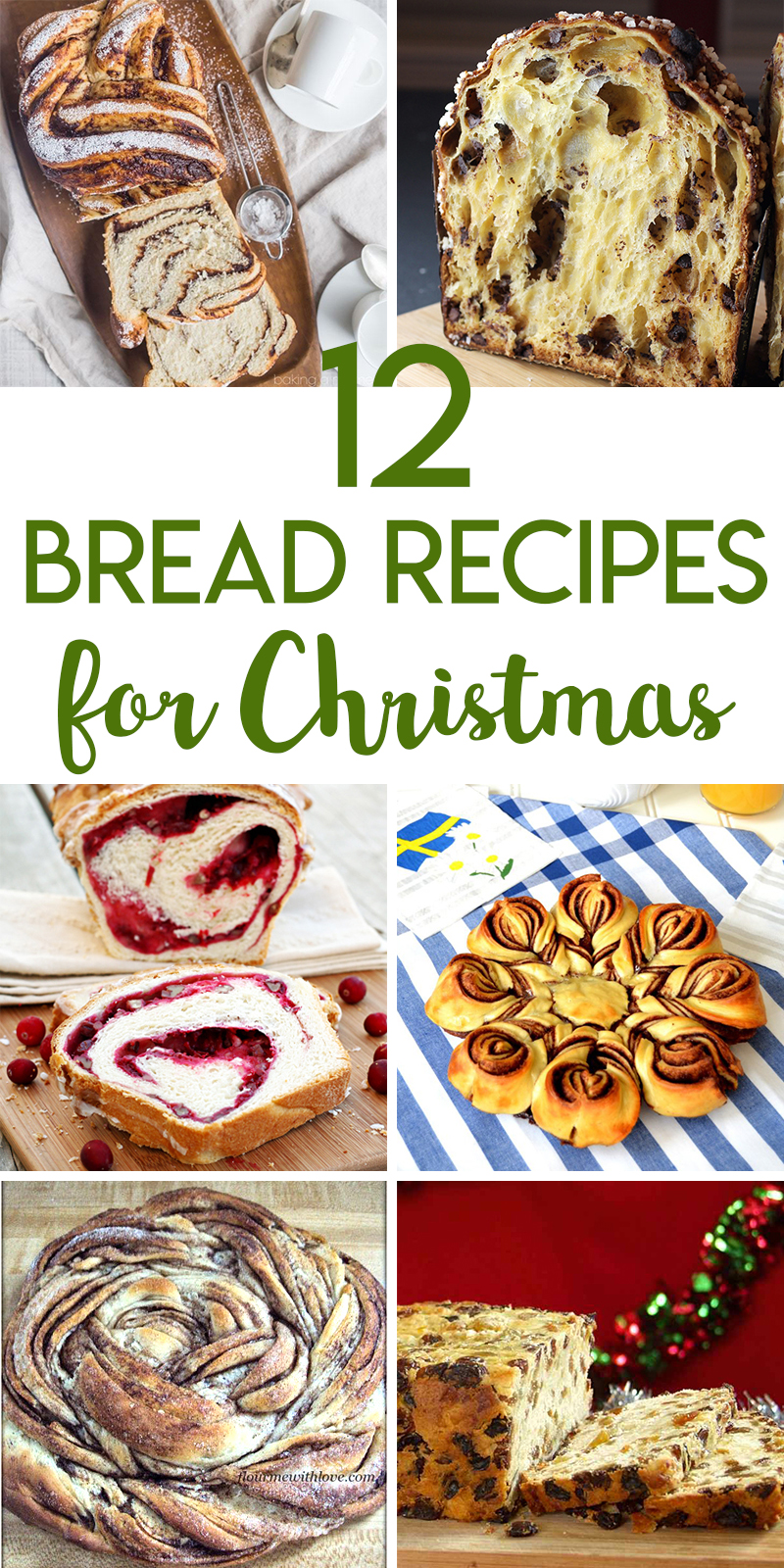 Christmas bread recipes