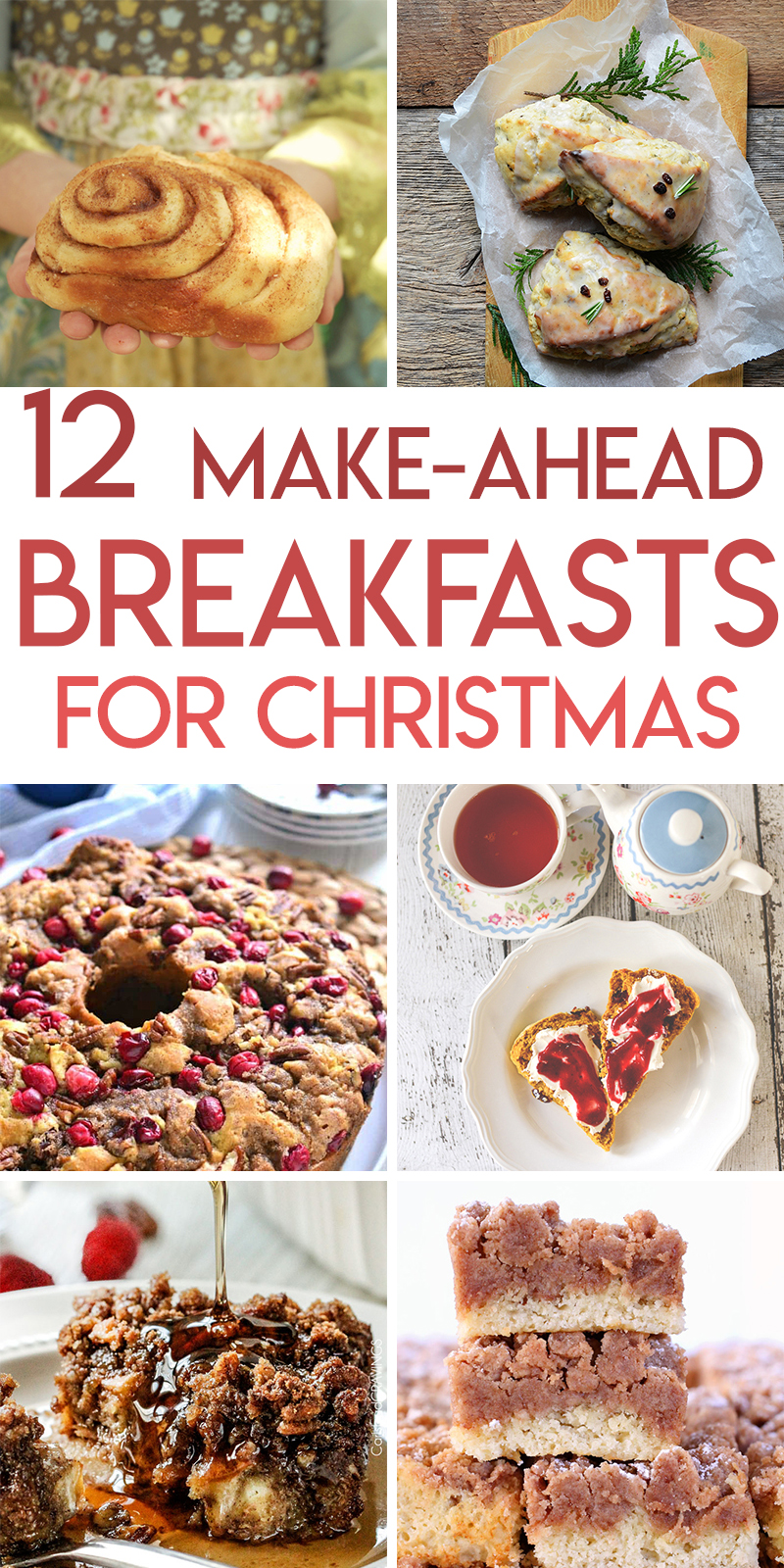 Twelve delicious make-ahead breakfast recipes for Christmas morning