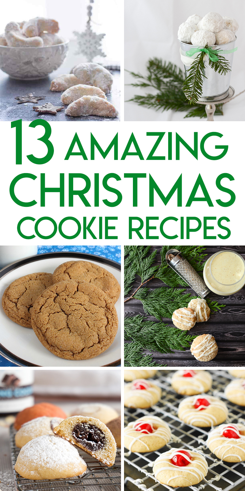 13 Christmas Cookie Recipes