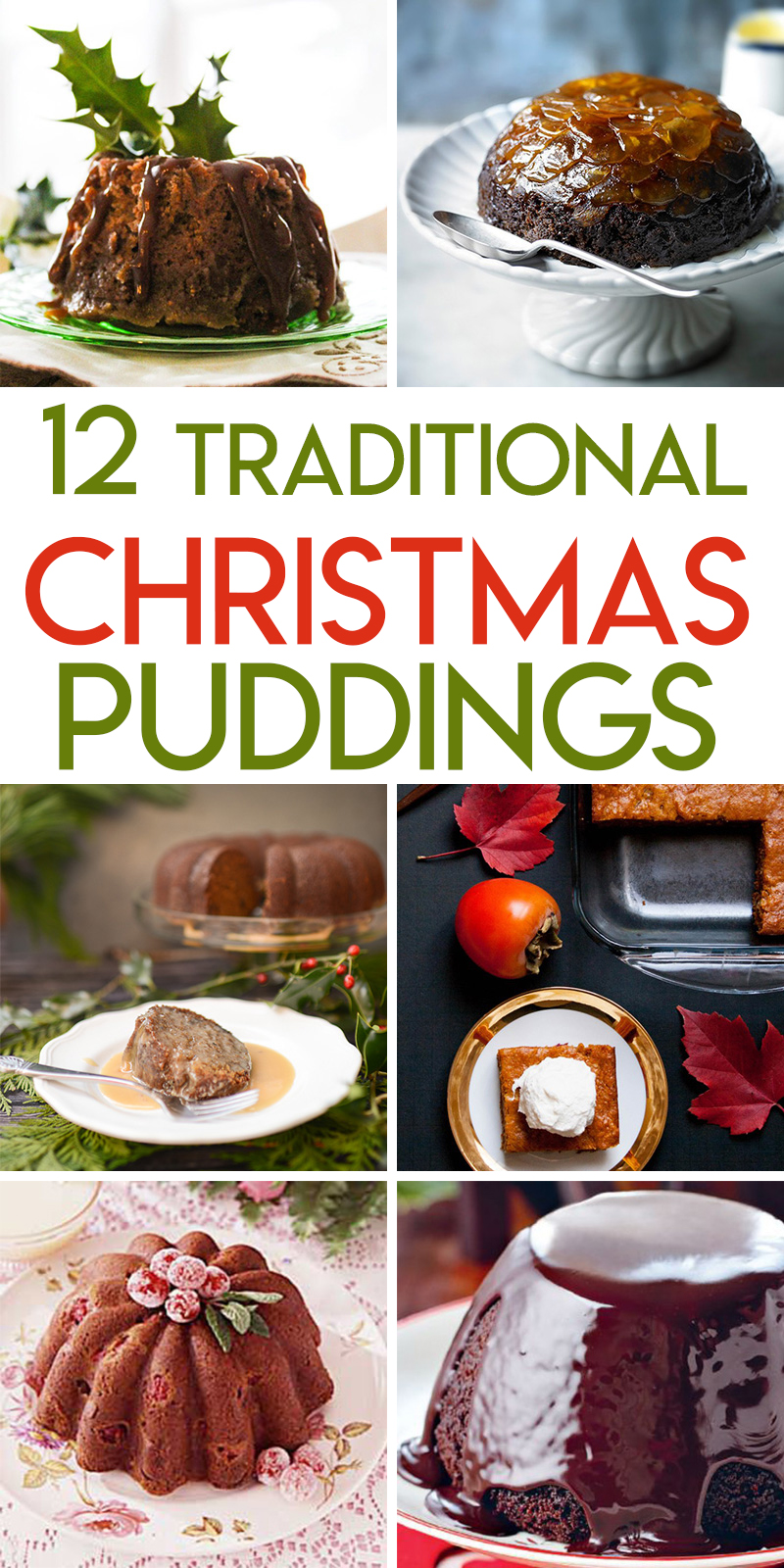 12 traditional steamed Christmas pudding recipes