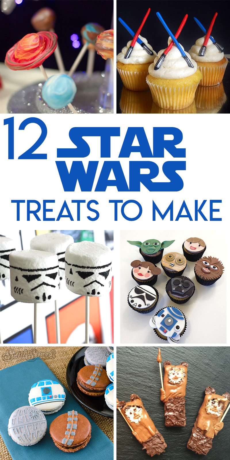 12 star wars snacks and treats to make for the opening of The Last Jedi