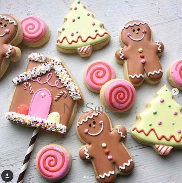 14 Gorgeous Pastel Christmas Decorated Sugar Cookies Random Acts