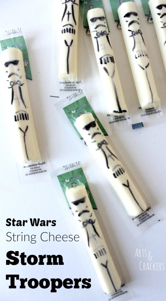 star wars string cheese tutorial