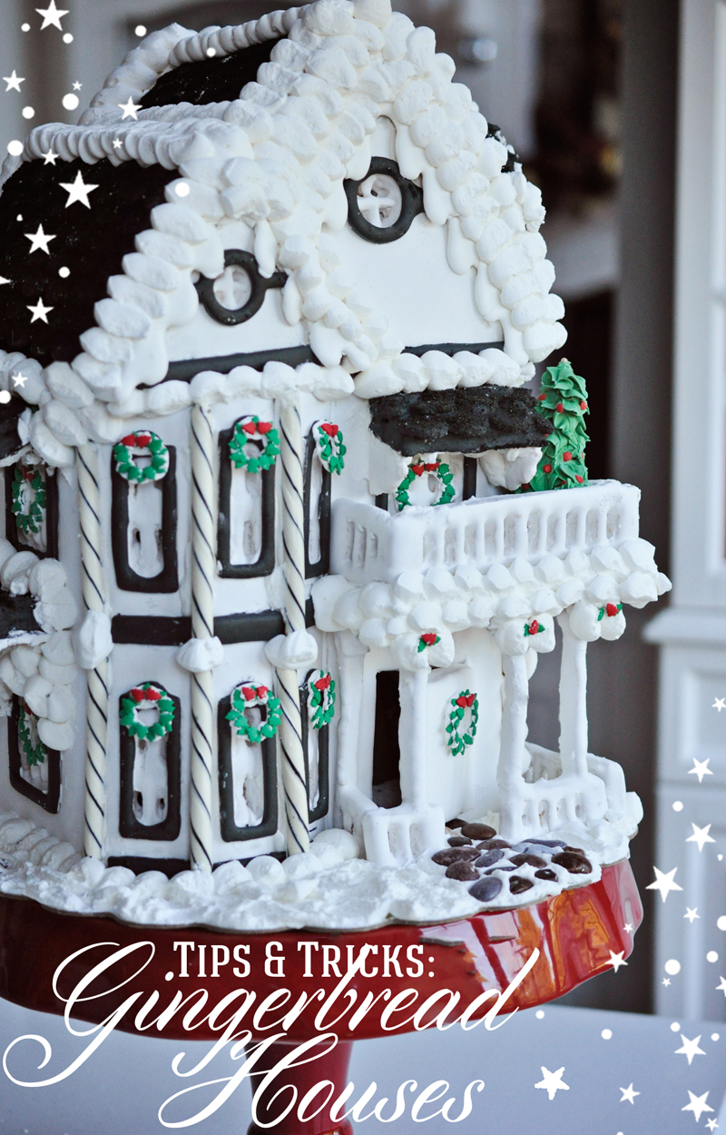 beautiful traditional gingerbread house design