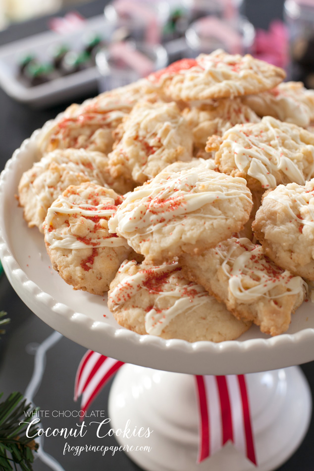 white chocolate coconut cookie recipe