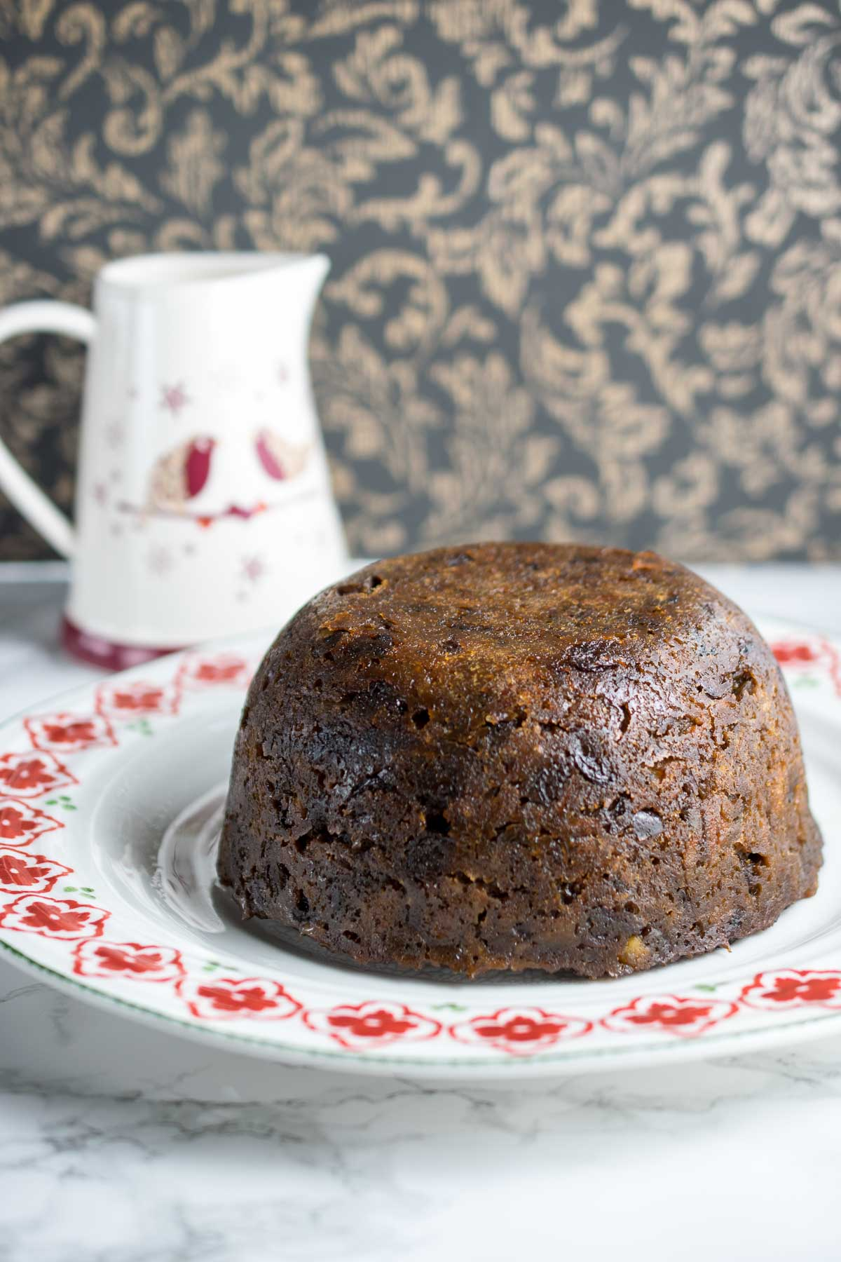 Instant pot steamed Christmas pudding recipe