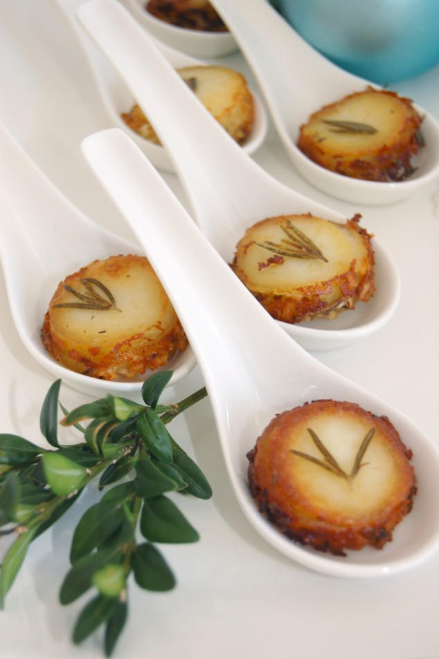 POMMES ANNETTE potato and herb appetizer recipe