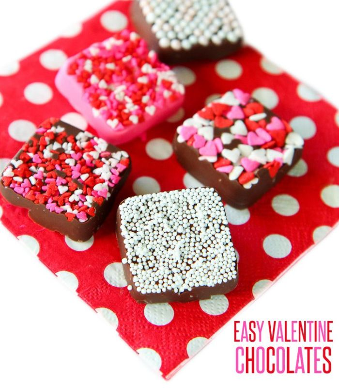 Easy valentine's day chocolates tutorial