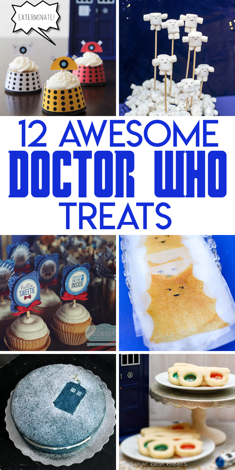12 out of this world doctor who themed treats to bake and make