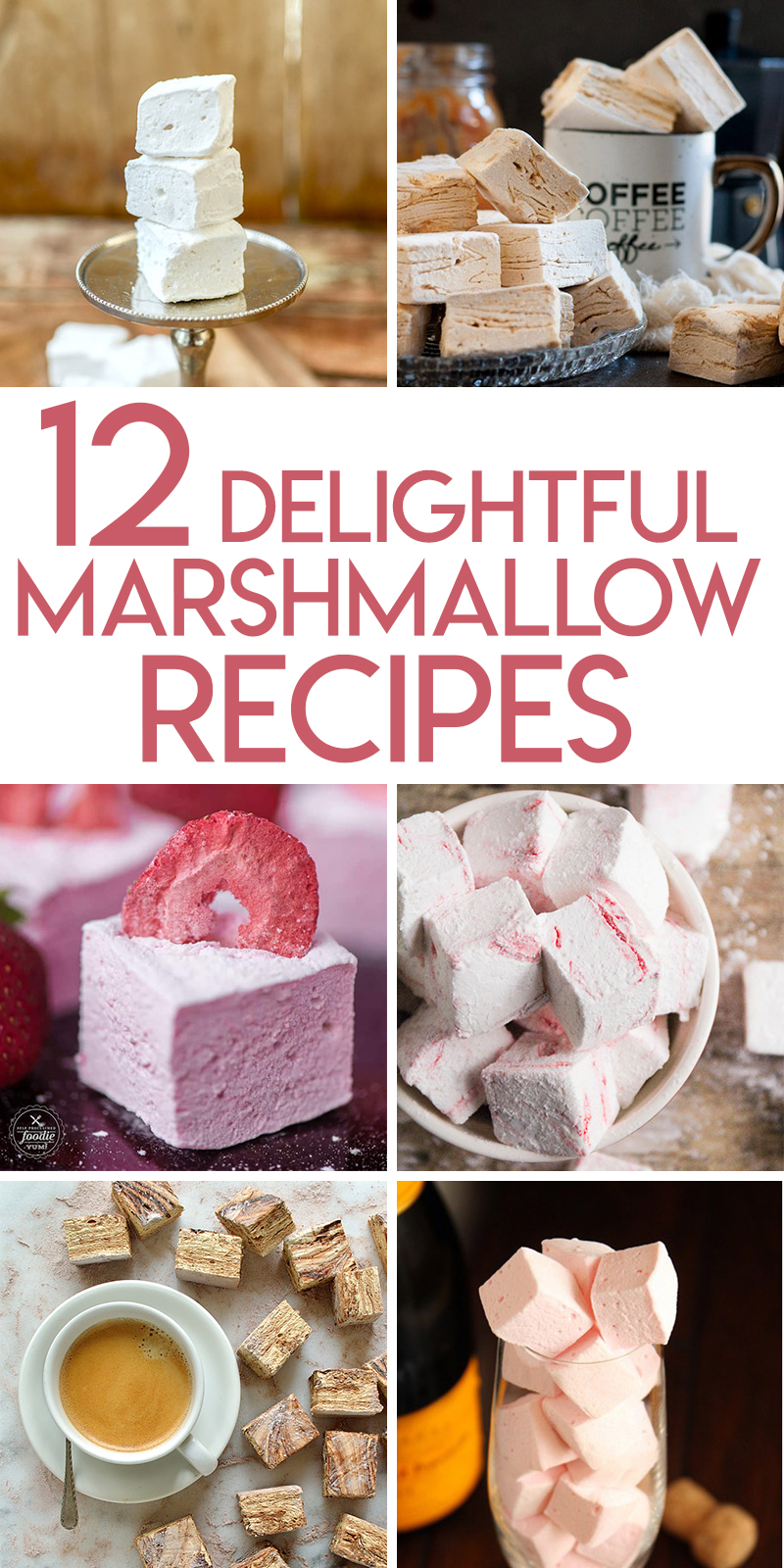 12 amazing different homemade marshmallow flavors and recipes