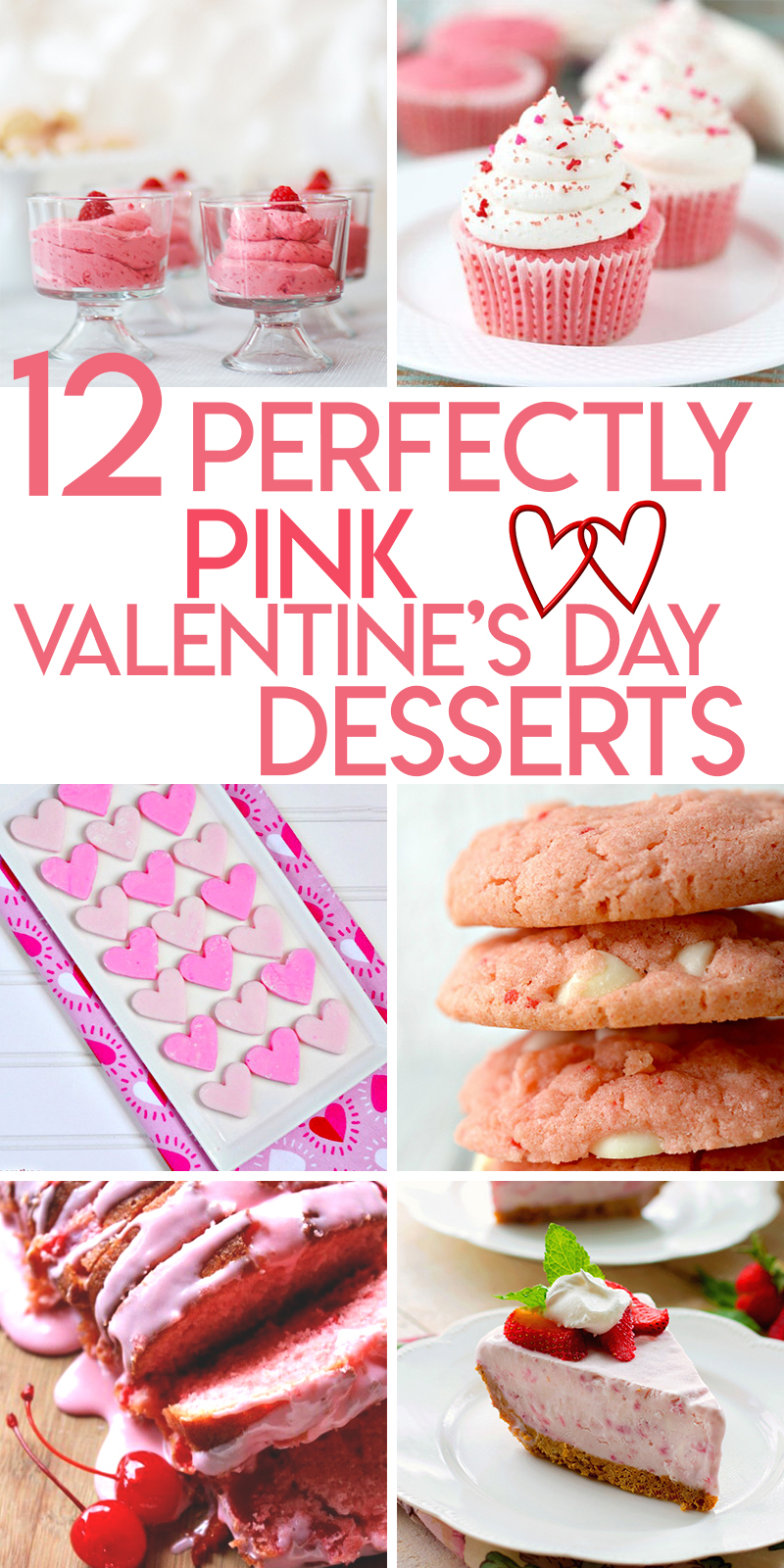 12 perfectly pink dessert recipes for Valentine's day