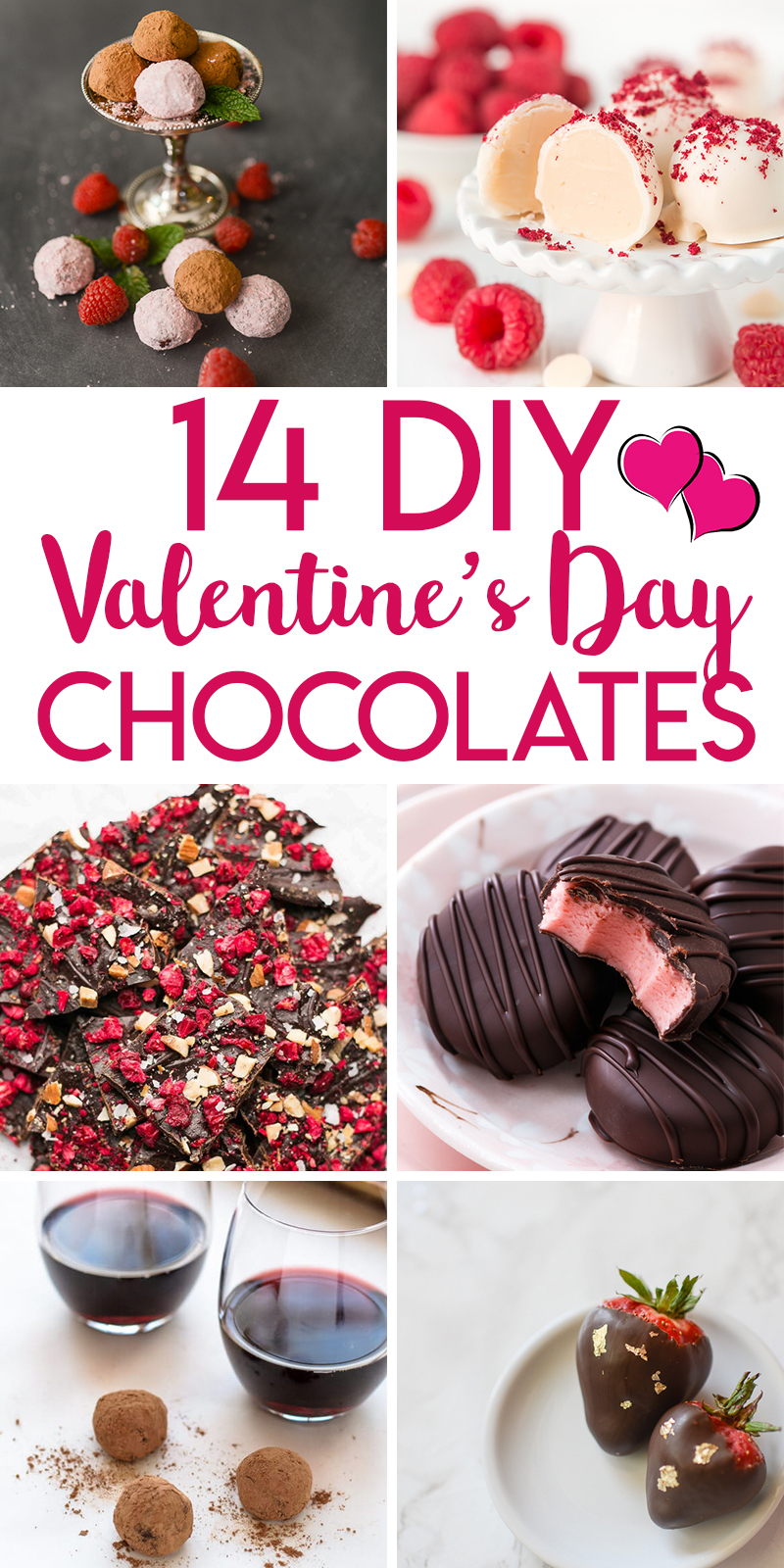 14 delicious chocolates to make for Valentine's Day