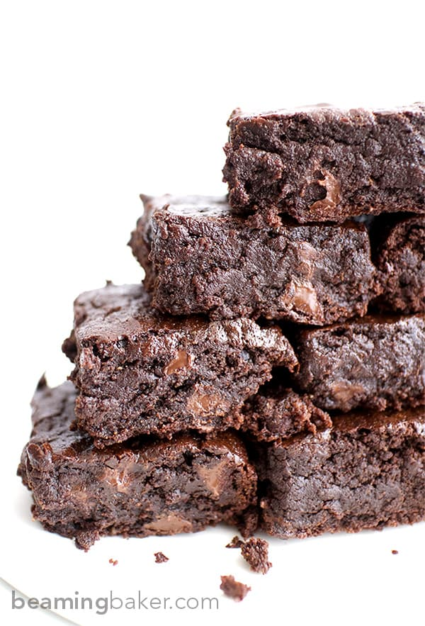 These rich and indulgent vegan brownies are what dreams are made of.
