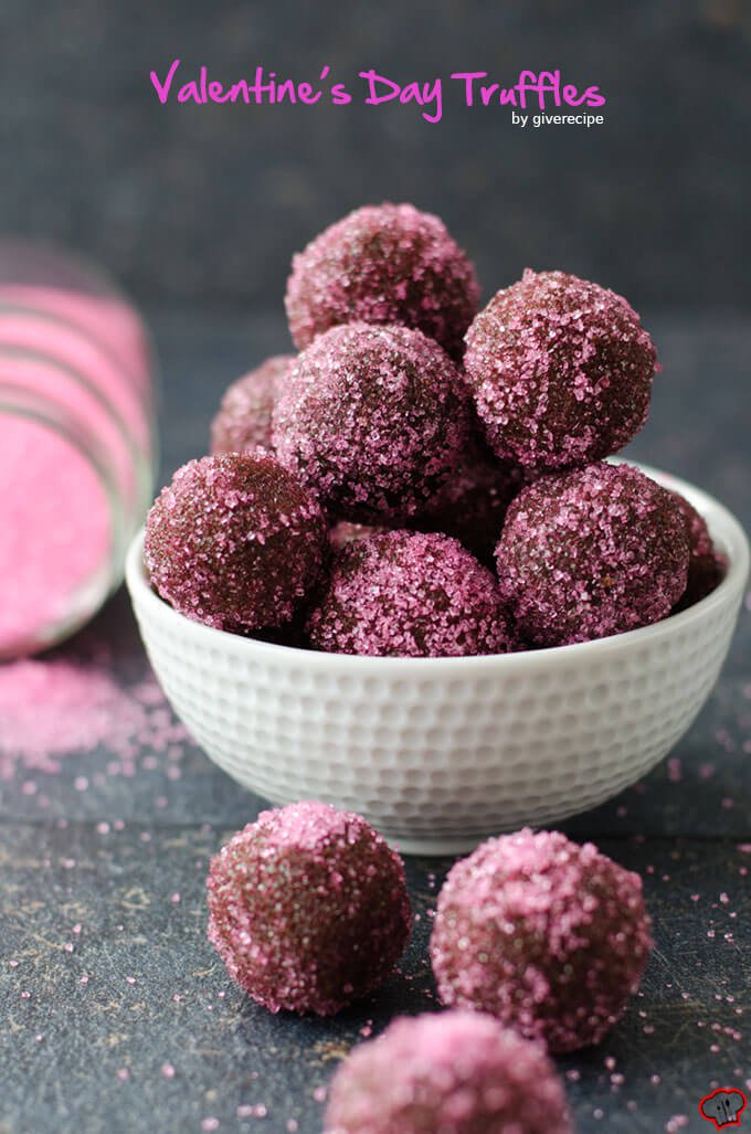 Valentine's day chocolate truffle recipe