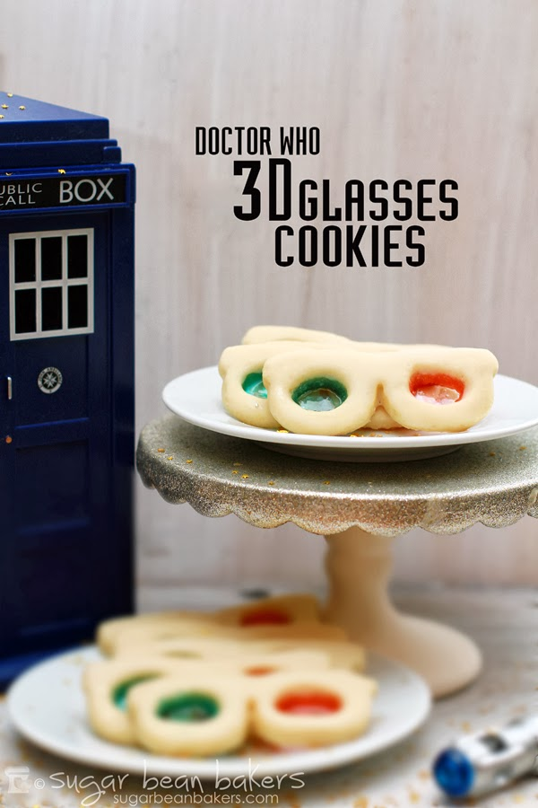 Is 10 your doctor?  Honor his memory with these delicious 3D glasses cookies.