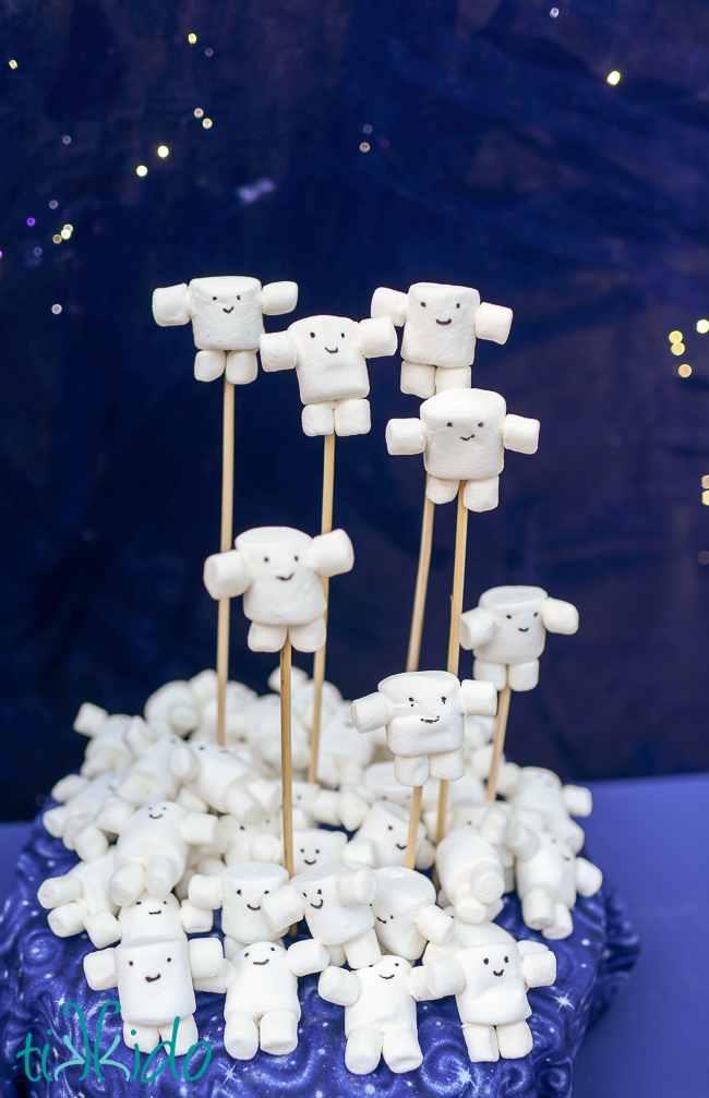 easy marshmallow doctor who adipose treats