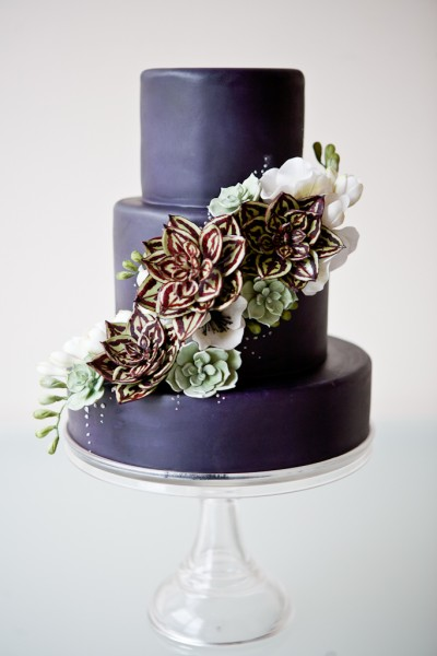 beautiful succulent wedding cake and gumpaste cactus tutorial