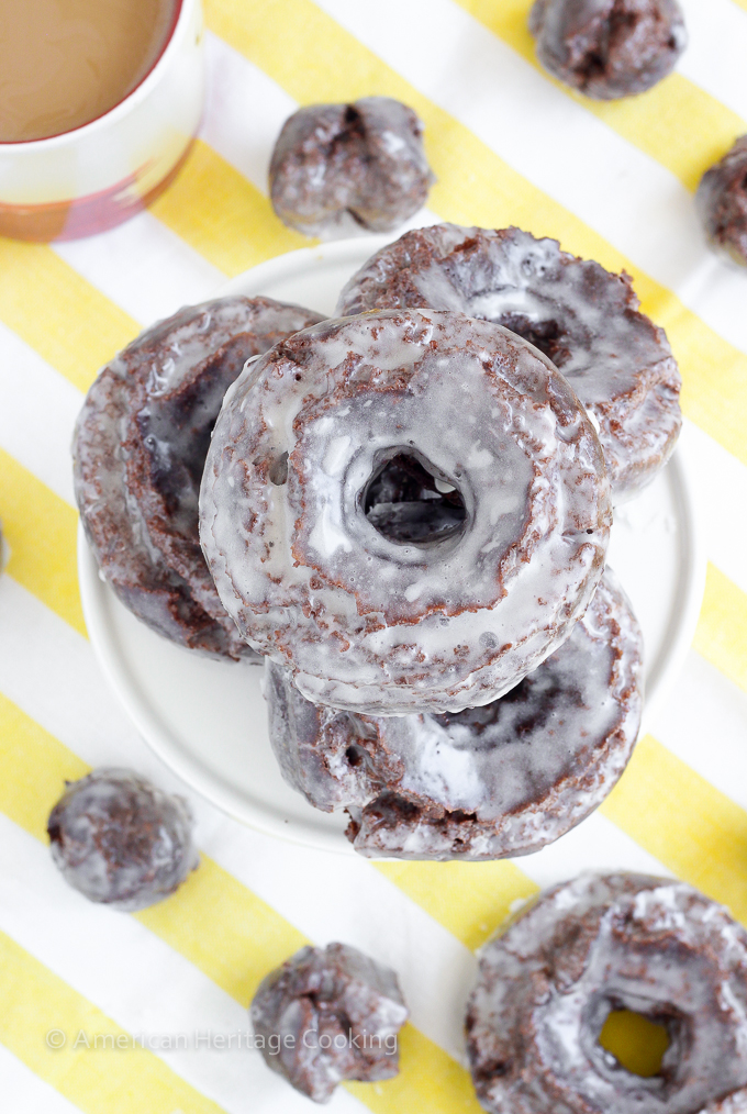 Chocolate cake doughnut recipe