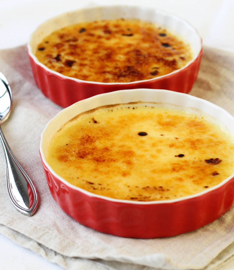 Recipe for creme brulee for two