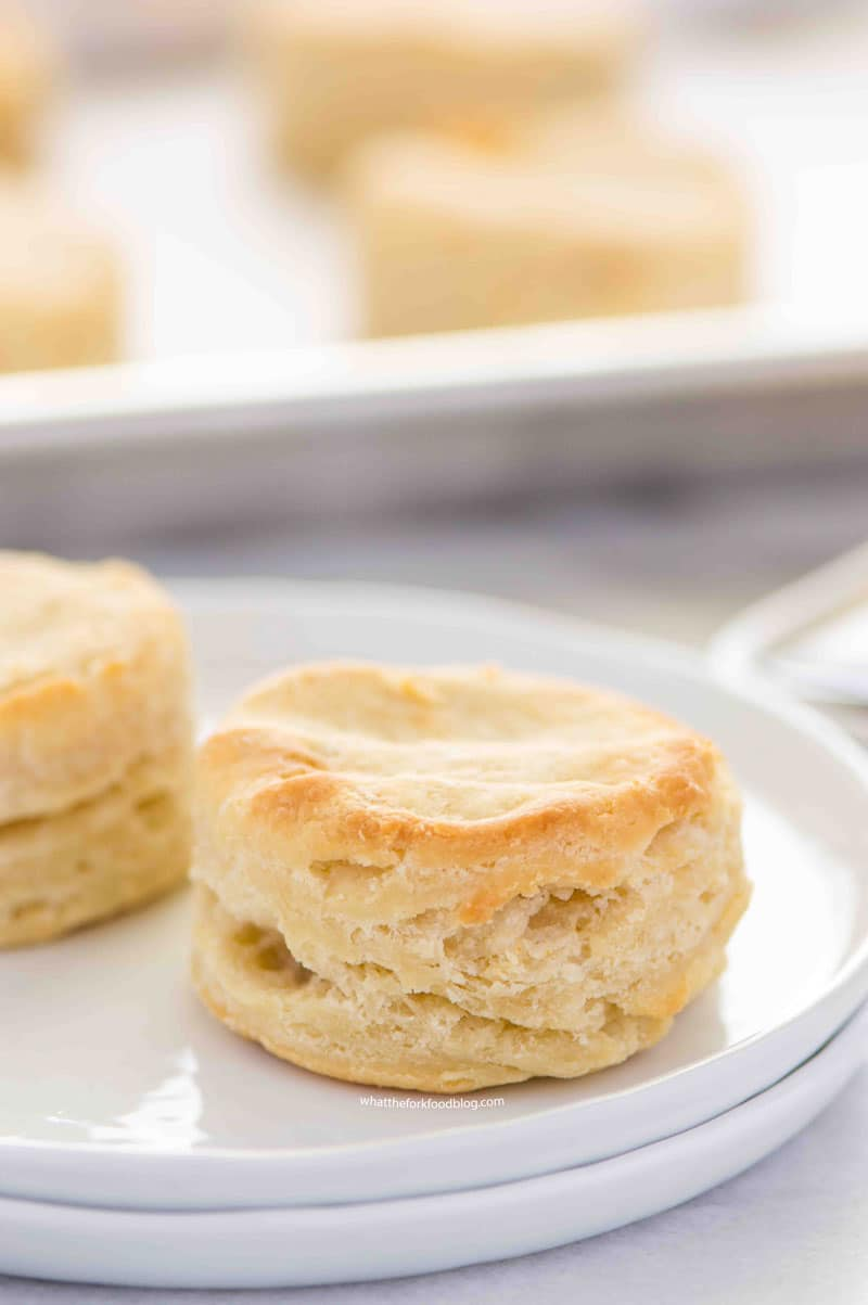buttery, flaky, fluffy gluten free biscuits