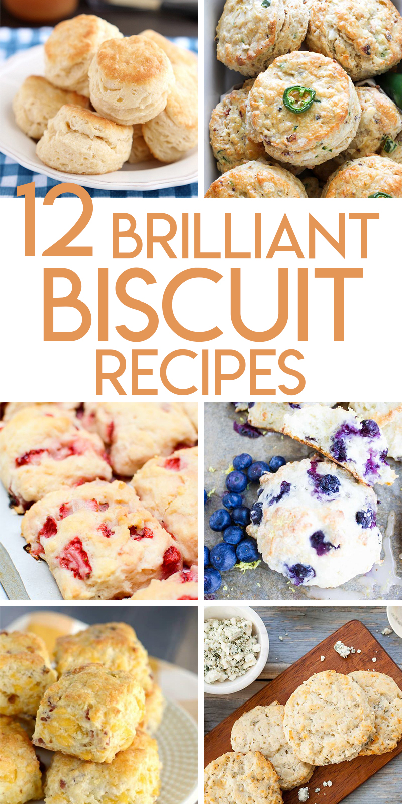 12 Brilliant Biscuit Recipes to Bake TODAY!