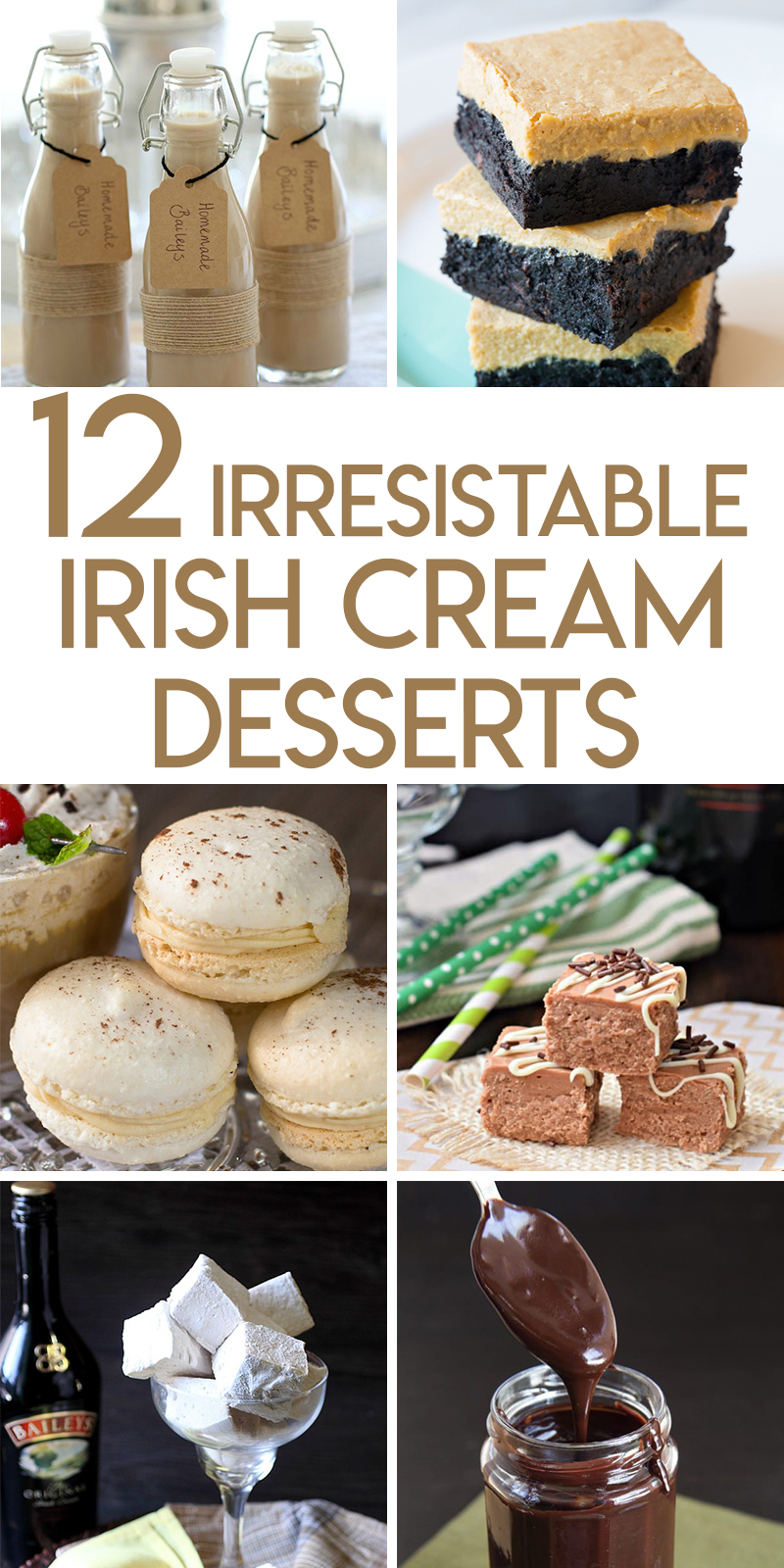12 irresistible irish cream desserts