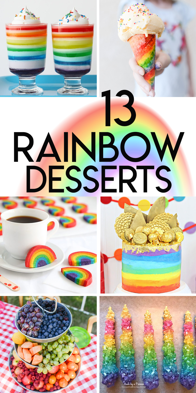 13 amazing rainbow dessert recipes