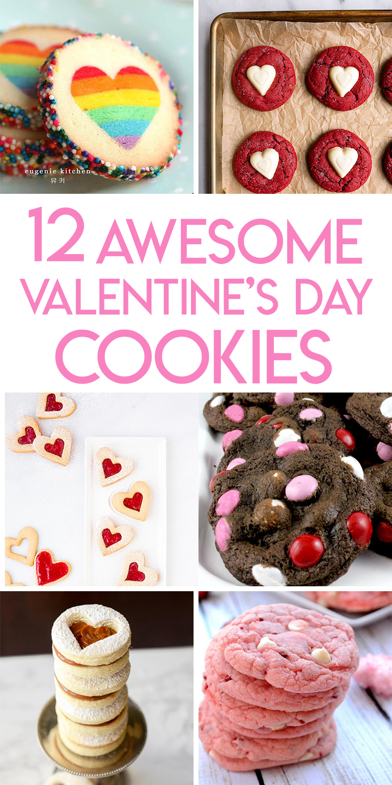 12 Delicious Valentine's Day Cookies