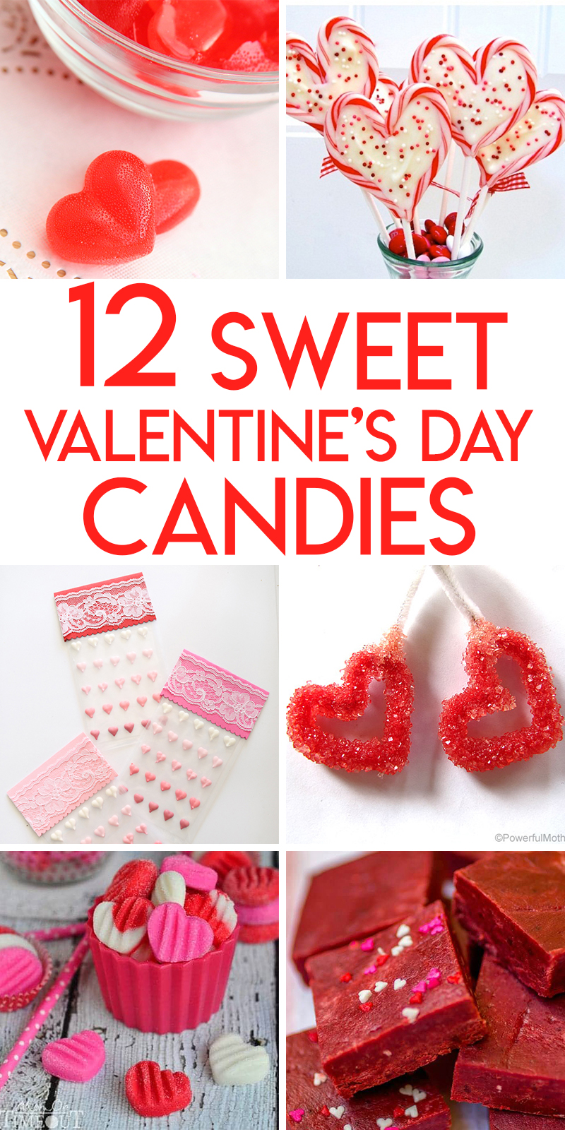 12 valentine's day candies recipes