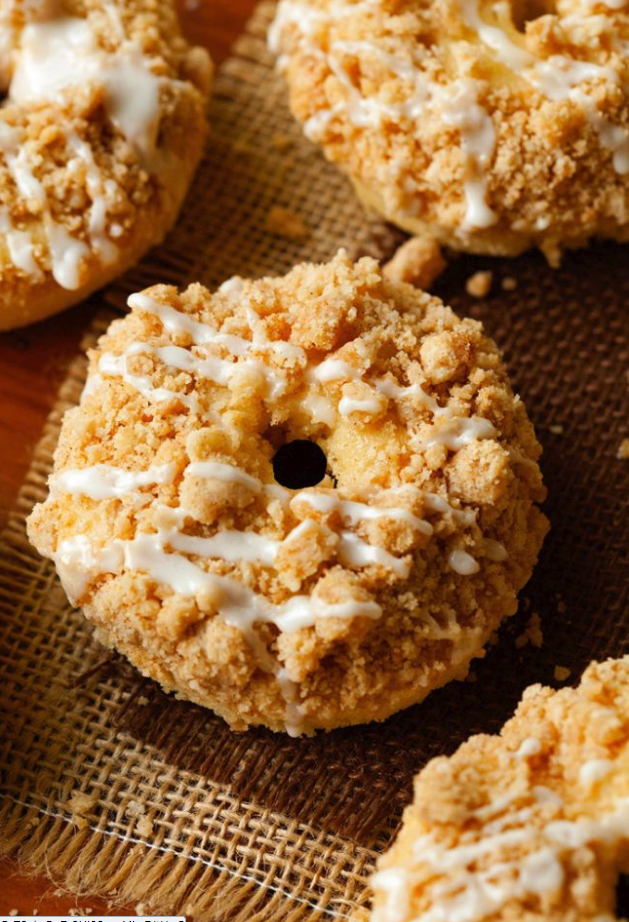 Coffee cake doughnuts recipe
