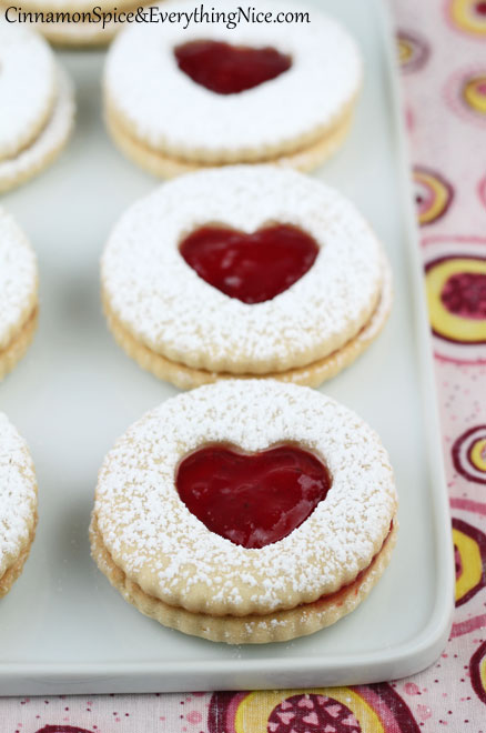 Sugar cookie heart cutout cookies