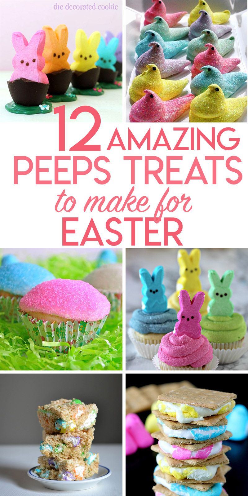 12 recipes that either use Peeps candies or are inspired by them.